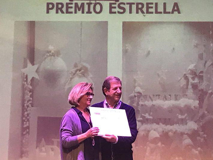 XVI Edición del Concurso Escaparates Navideños. Premio Estrella.
